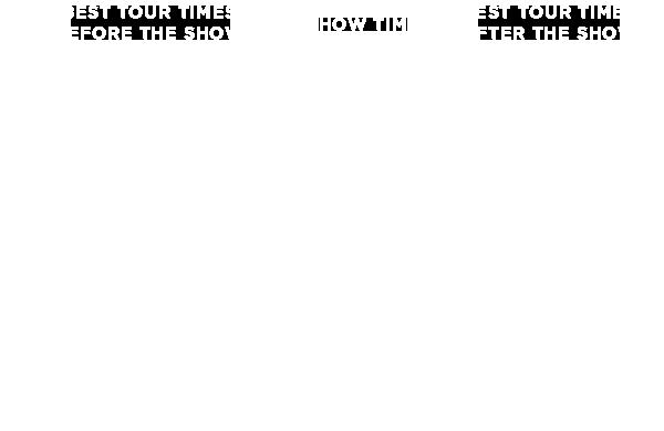 Stage Door Tour Times